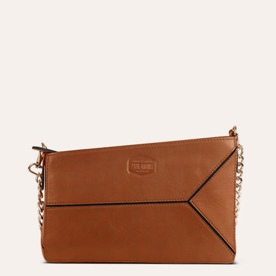 Iva Sling Bag Available in Dark Almond Tan Color | www.pauladams.com