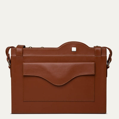 Orion leather portfolio bag with soft Napa leather. Shop at Paul Adams world.