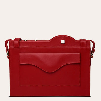 Orion Messenger Bag for Women Available in Scarlet Red Color | Buy on Paul Adams
