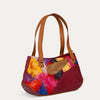The Pearl Baguette designer handbag with original, handpainted abstract art. Available at pauladamsworld.com