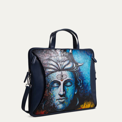 Shiva portfolio laptop bag fits a 13-inch laptop with ease. Shop at pauladamsworld.com.