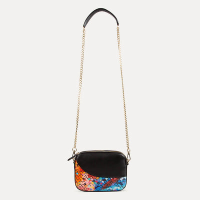 Zoe sling bag with adjustable shoulder strap. Available at the world of Paul Adams.