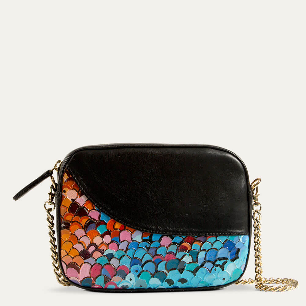 Zoe sling bag, perfect to go with evening and party outfits. Shop at Paul Adams.