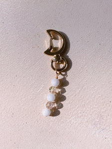 Crescent Moon Bag Charm