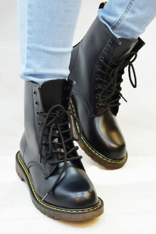 Designer Inspired Military Boots