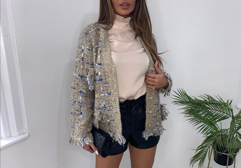 Gold Tweed Jacket