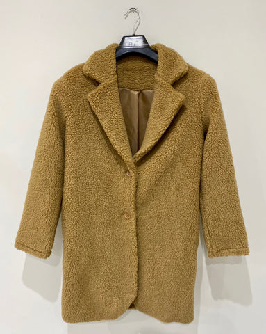 Teddy Bear Coat in Brown