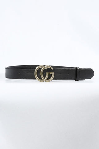 CG Buckle Belt in Gold