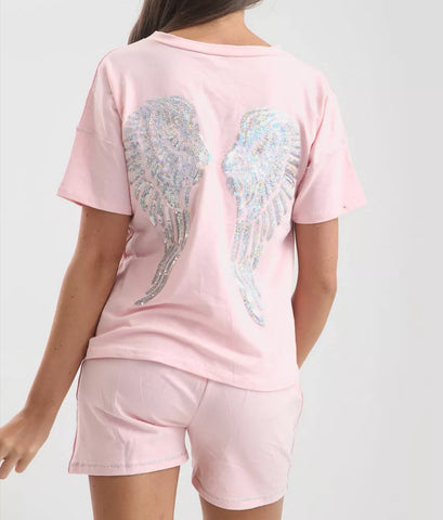 Sequence Angel Wing Co-Ord Set