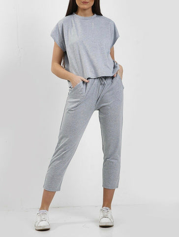 Boxy Tracksuit in Grey