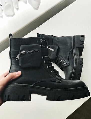 Designer Inspired Side Pocket Boots