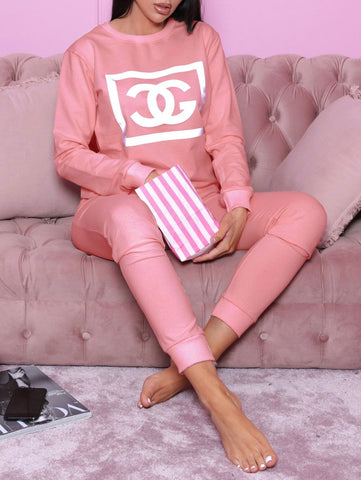 CG Tracksuit in Pink