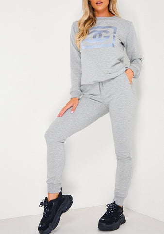 CG Tracksuit in Grey