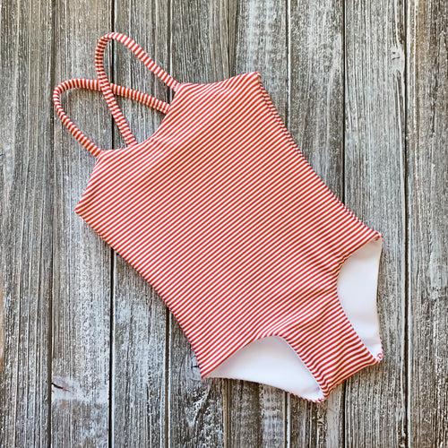 Baby Bikini | Red Stripe