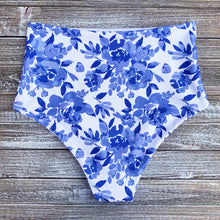 Load image into Gallery viewer, High Waisted Bottoms | Blue Floral