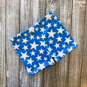 Baby Soft Swim Shorties | Blue Star