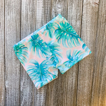 Load image into Gallery viewer, Baby Soft Swim Shorties | Pink Palm