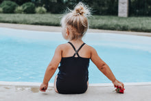 Load image into Gallery viewer, Baby Bikini | Blue Watercolor