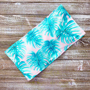 Bandeau Top | Pink Palm