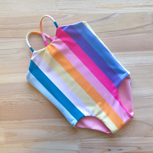 Child Suit | (Reversible) Rainbow + Blush