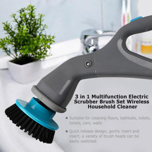 3 in 1 Multifunction Electric Scrubber Brush