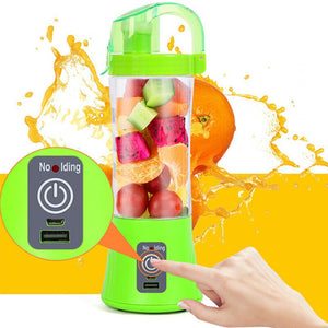 Rechargeable Portable Blender Juicer Cup