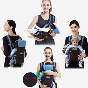 Breathable Front Facing Baby Carrier 4 in 1