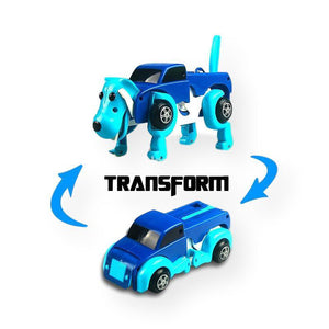 Automatic Transforming Dog Car Vehicle