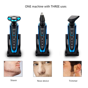 Men Washable & Rechargeable Electric Shaver