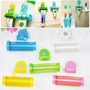 Creative Rolling Squeezer Toothpaste Dispenser