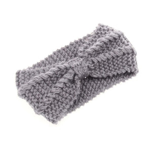 Winter Warmer Ear Knitted Headband Turban