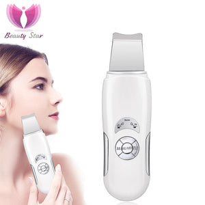 Ultrasonic Face Cleaning Scrubber