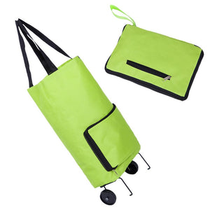 Folding Home Trolley Shopping Bag