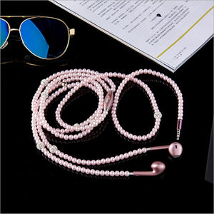 Pearl Necklace Earphones