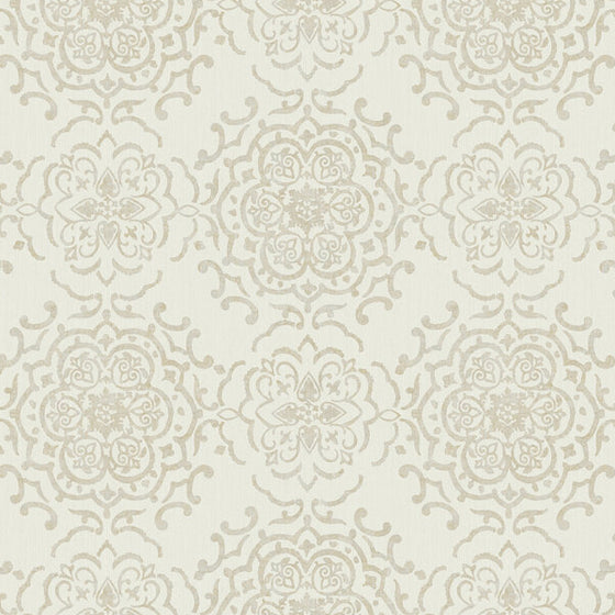 String Medallion Cream/Gold - 25027