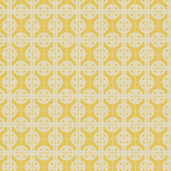 Asian Lattice Design Saffron