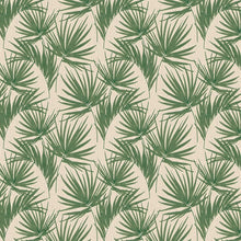 Aurora Palm Design Green