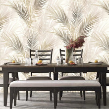Bamboo Palm Design Brown
