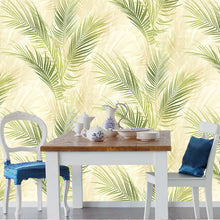 Bamboo Palm Design Green