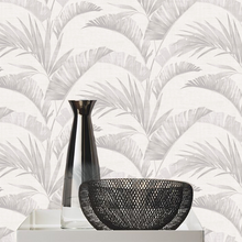 Banana Palm Design Grey - BW016