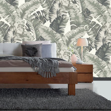 Banana Palm Design Green - A - BW013