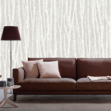 Birch Tree Design Taupe
