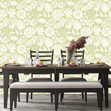 Bold Floral Design Green - BW025