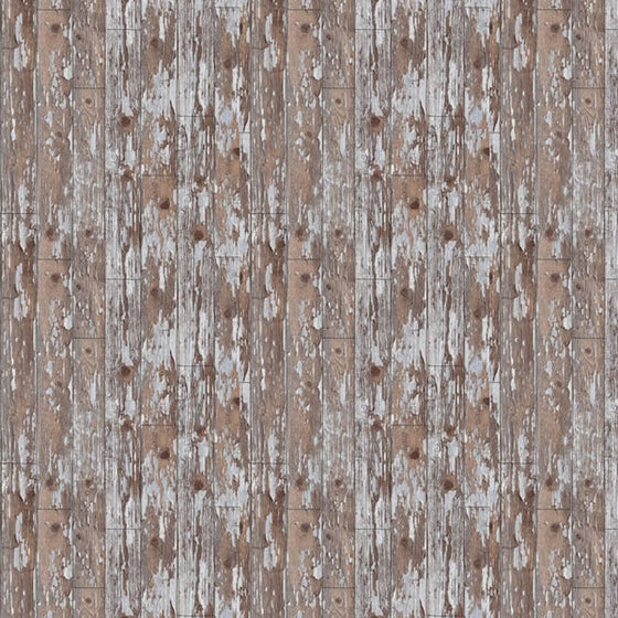 Cabin Wood Design Brown / Grey