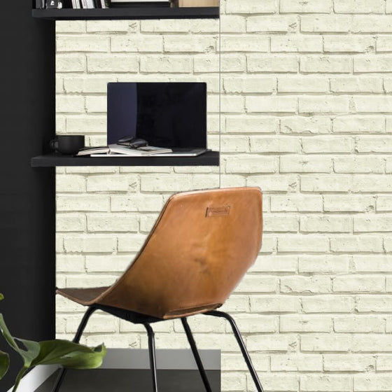 City Brick Design Cream