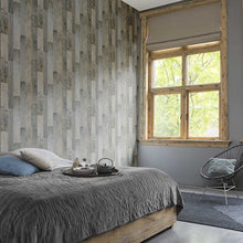 Country Wood Design Blue / Grey - 941623