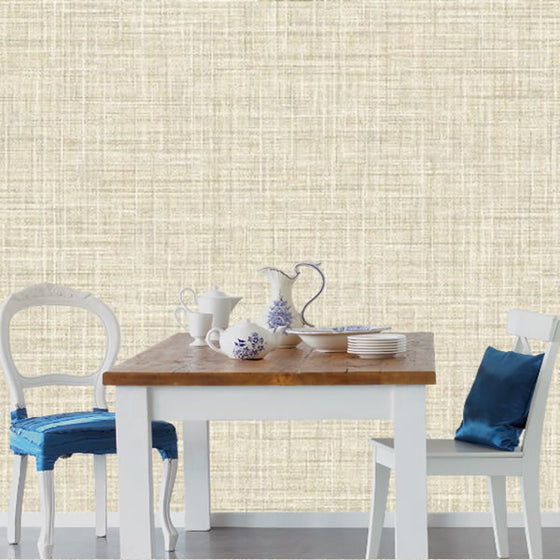 Crosshatch Texture Design Beige