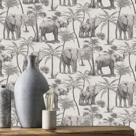Elephant Grove Design Charcoal
