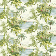 Hawai Palm Design Green
