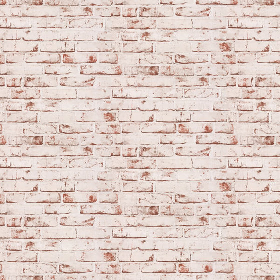 Industrial Brick Design Red